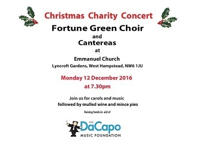 Fortune Green Choir flyer